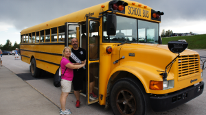 Yellow Schoolbus. Dit kan ook van onze bucket list.
