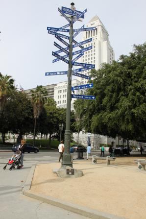 Zustersteden van Los Angeles