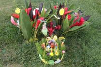 Mooie paasstukjes bij de graven